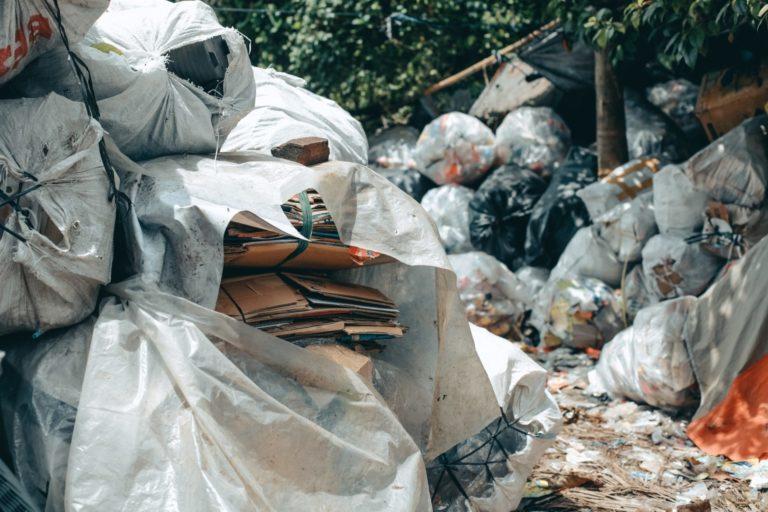 Pile Of Trash Bag
